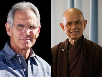 Jon Kabat-Zinn and Thich Nhat Hanh